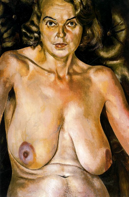 Nude Portrait of Patricia Preece by Stanley Spencer (1935)