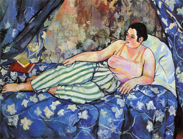 The Blue Room, 1923 - Suzanne Valadon