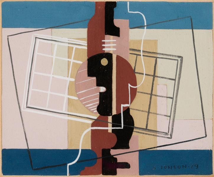 Komposition med fönster, 1929 - Свен Джонсон