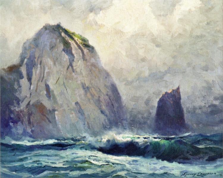 Cape St. Elias, 1928 - Sydney Laurence