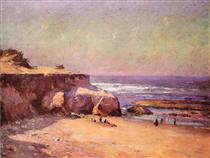 On the Oregon Coast - T. C. Steele