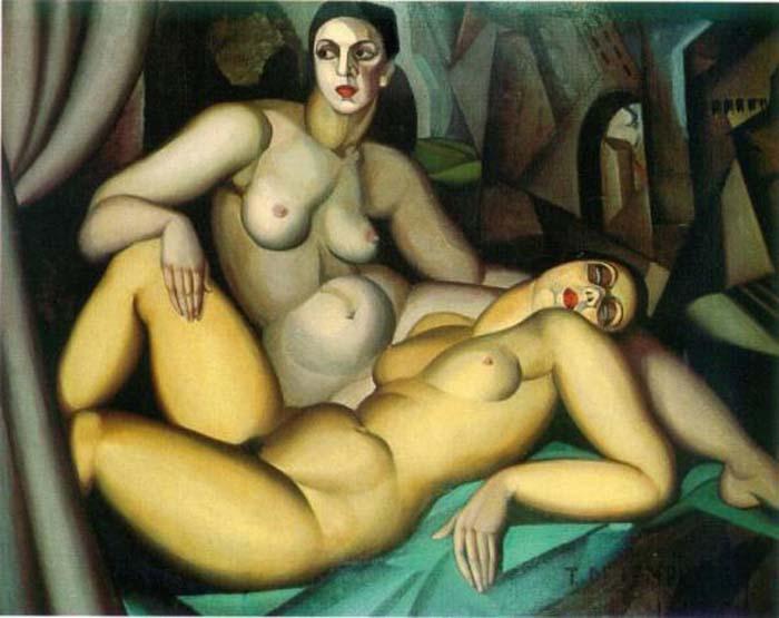 Perspective, 1923 - Tamara de Lempicka