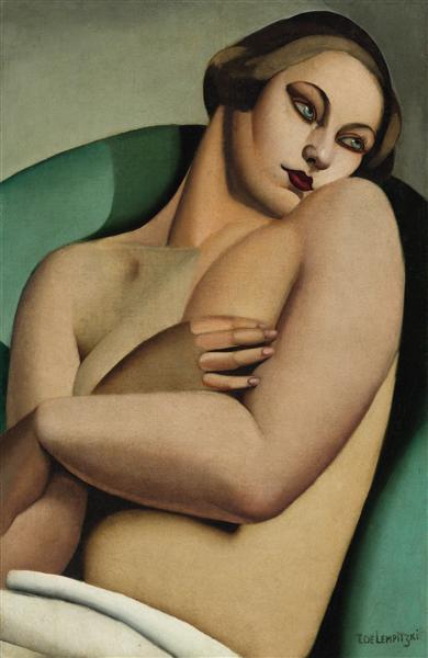 Reclining Nude I, 1925 - Tamara de Lempicka