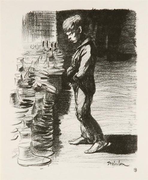 A Propos Des Bottes, 1897 - Theophile Steinlen