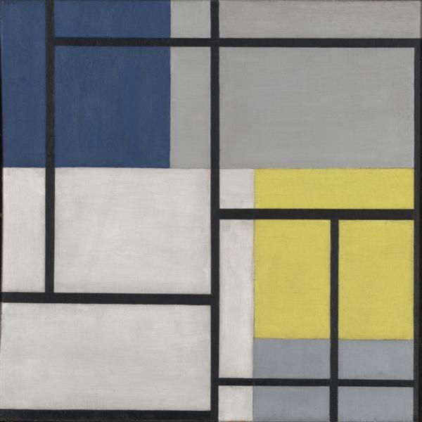 Simultaneous Composition XXIV, 1929 - Theo van Doesburg