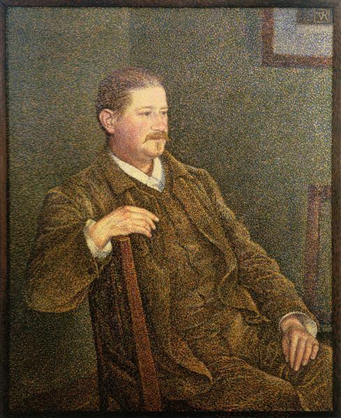 Dr. Auguste Weber, 1892 - Theo van Rysselberghe