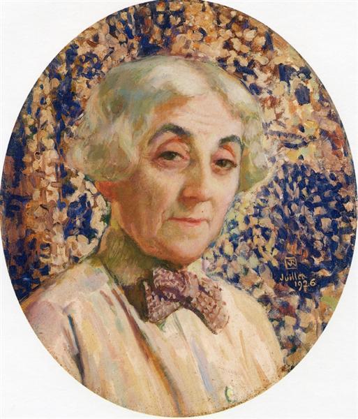Portrait of Maria van Rysselberghe, 1926 - Theo van Rysselberghe