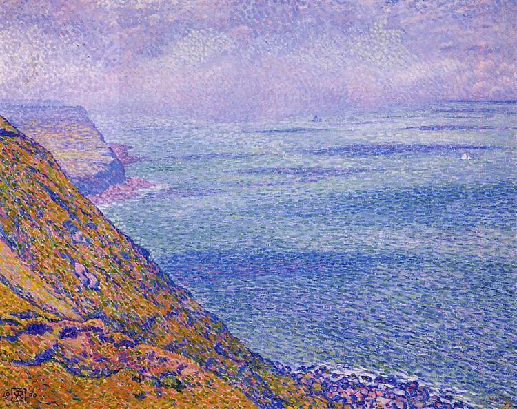The Cap Gris Nez, 1900 - Theo van Rysselberghe