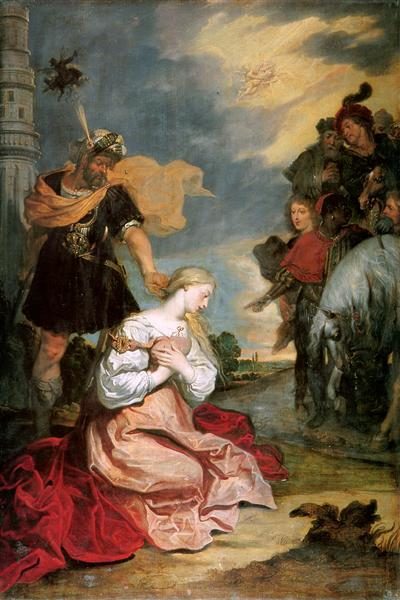 Marthyrship of the Holy Barbara - Theodoor van Thulden