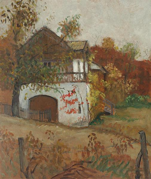 House from Oltenia - Theodor Pallady