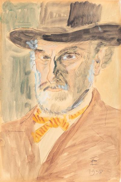 Self-Portrait, 1938 - Theodor Pallady