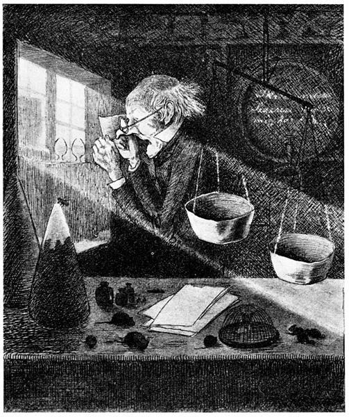 Gamle Joergen Rod - Theodor Severin Kittelsen