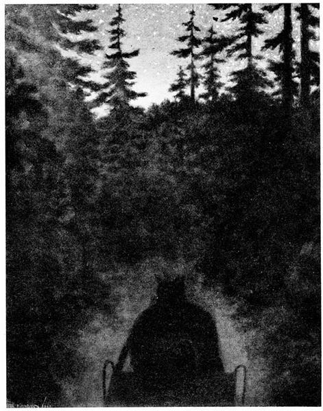 Hjemover - Theodor Severin Kittelsen