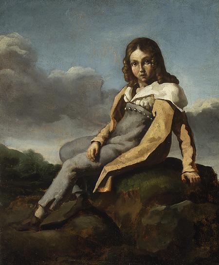 Alfred Dedreux as a Child, c.1819 - c.1820 - Théodore Géricault