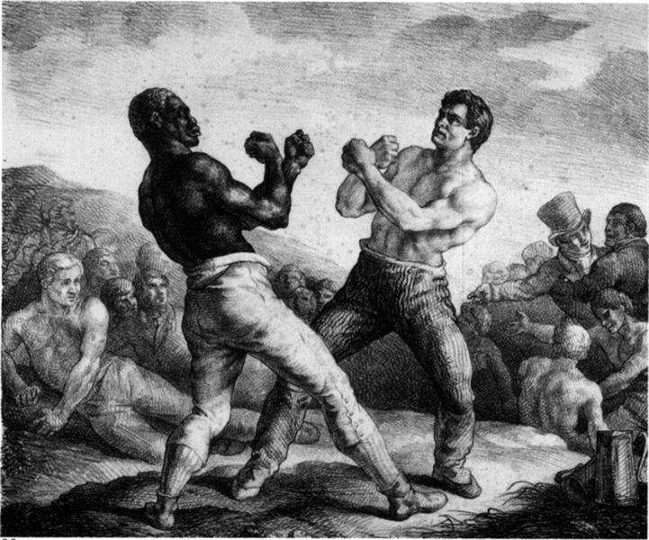 Boxers, 1818 - Théodore Géricault