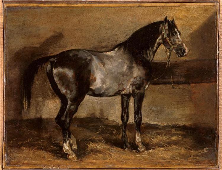 Grayhorserack - Théodore Géricault