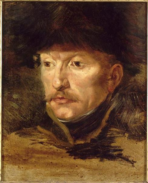 Officer of Chasseurs of the Imperial Guard - Théodore Géricault