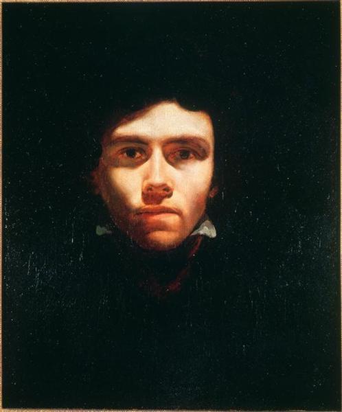 Portrait of Eugene Delacroix, 1818-1819 - Theodore Gericault