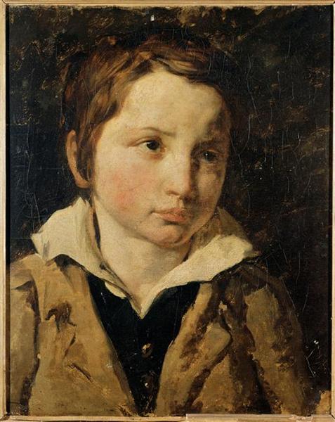 Portrait ofyoungboy, probablyOlivierBro - Théodore Géricault