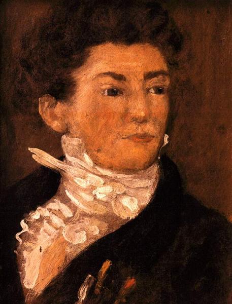 Self-Portrait - Théodore Géricault
