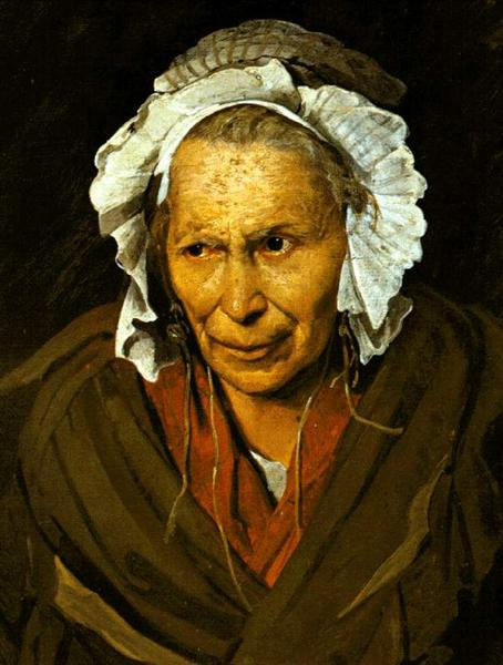 The Madwoman, or The Obsession of Envy, 1822 - Théodore Géricault