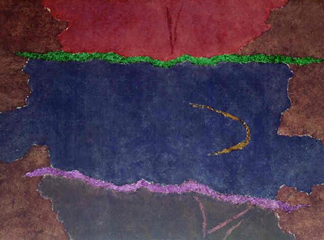 Infinity Field, Lefkada Series, 1982 - Theodoros Stamos