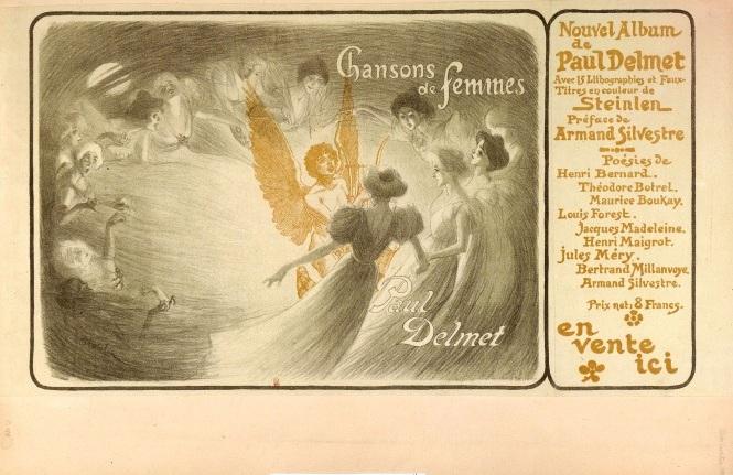Chansons de Femmes, 1897 - Théophile-Alexandre Steinlen