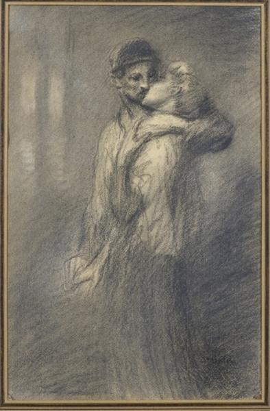 Couple - Theophile Steinlen