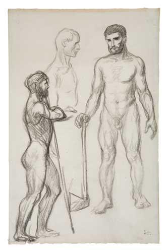 Etude des Hommes - Theophile Steinlen