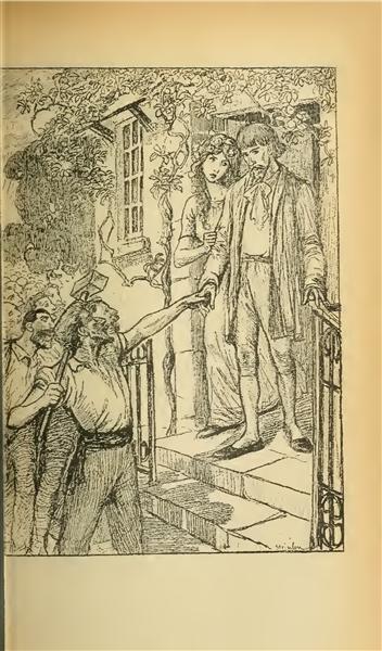 Fermez La Porte - Théophile Alexandre Steinlen