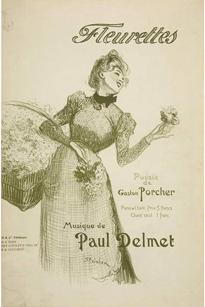 Fleurettes, 1899 - Theophile Steinlen