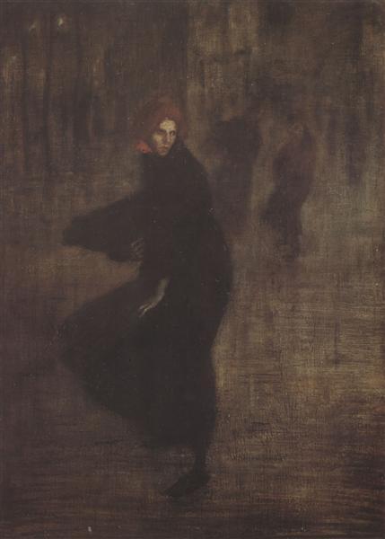 Flurry - Theophile Steinlen