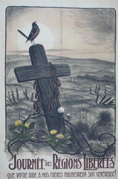 Journee des Regions Liberees, 1919 - Theophile Steinlen