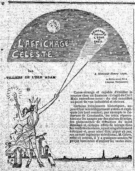 L'Affichage Celeste, 1891 - Théophile Alexandre Steinlen