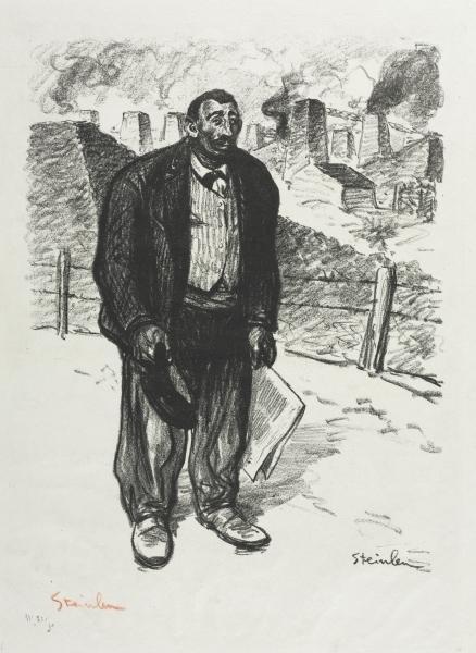 L'Honnete Ouvrier, 1899 - Theophile Steinlen