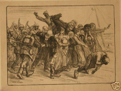 Le Bouclier, 1915 - Theophile Steinlen