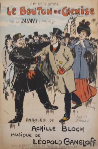 Le Bouton de Chemise, 1892 - Theophile Steinlen