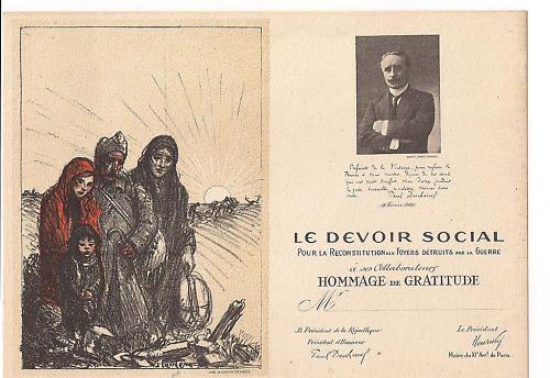 Le Devoir Social - Theophile Steinlen