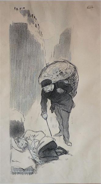 Le Petit Mitron - Theophile Steinlen