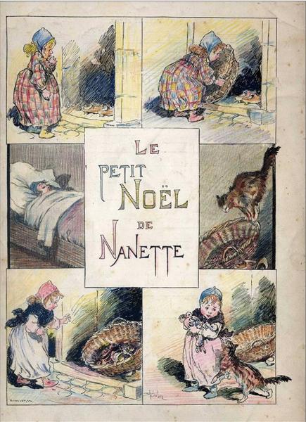 Le Petit Noel de Nanette - Theophile Steinlen