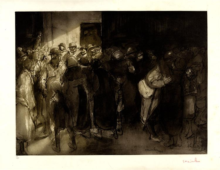 les Adieux, 1916 - Theophile Steinlen