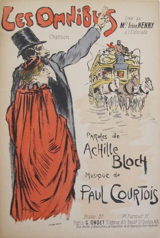 Les Omnibus, 1892 - Theophile Steinlen
