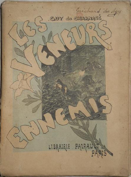 Les Veneurs Ennemis, 1887 - Théophile-Alexandre Steinlen