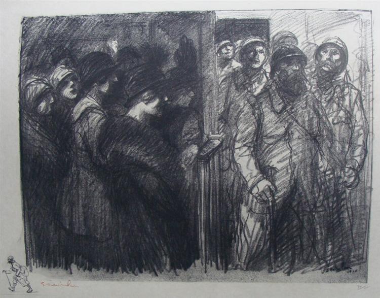 Les Voilas, 1916 - Theophile Steinlen