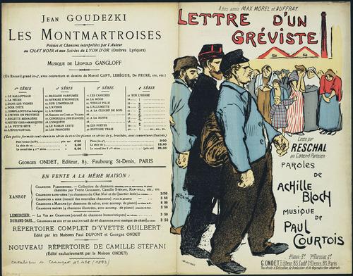 Lettre d'un Greviste, 1893 - Theophile Steinlen