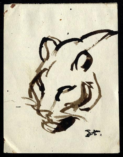 Lion - Theophile Steinlen