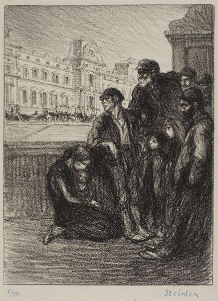 Misere et Splendeur, 1908 - Theophile Steinlen