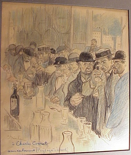 Paysage D'Alcool - Theophile Steinlen