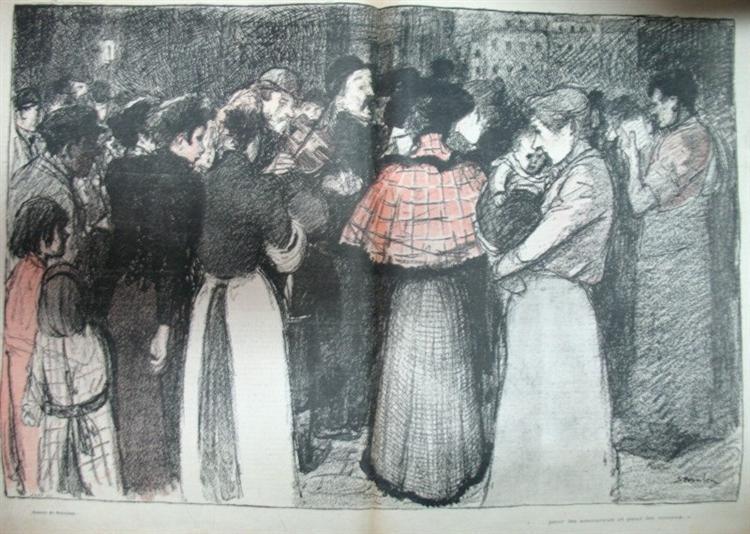 Pour Les Amoureux et Pour Les Oiseaux, 1895 - Теофиль Стейнлен