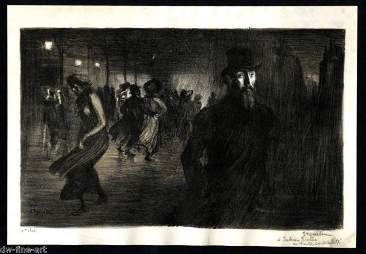 Soliloque Cover - Theophile Steinlen